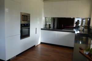 iCM Geelong wining kitchen now complete with splashback