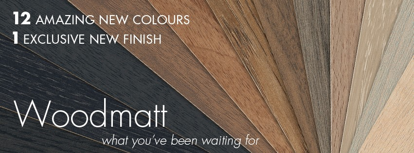 polytec's WOODMATT range is available in 12 colours and one finish.