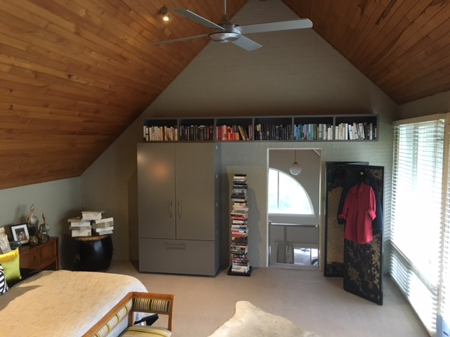 Clever use of space to create an amazing attic bedroom. Created by Libby Gumley Geelong Interior Designer