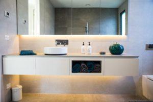 Bathroom by SCLK joinery Geelong
