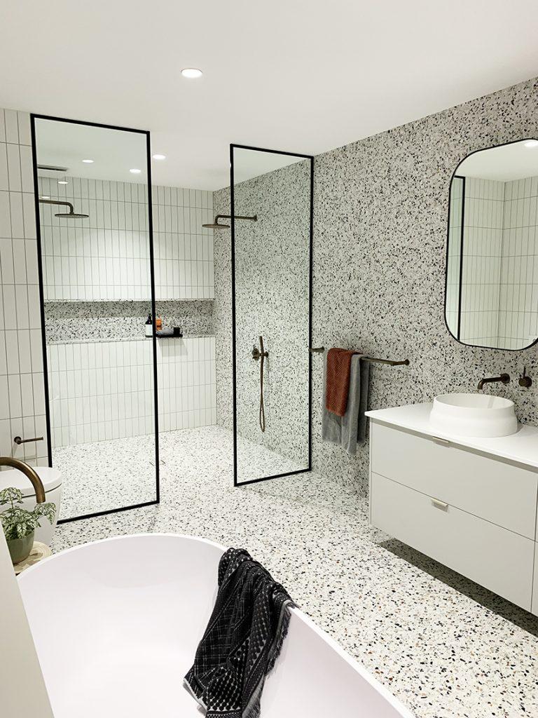 Terrazzo Tile Bathroom
