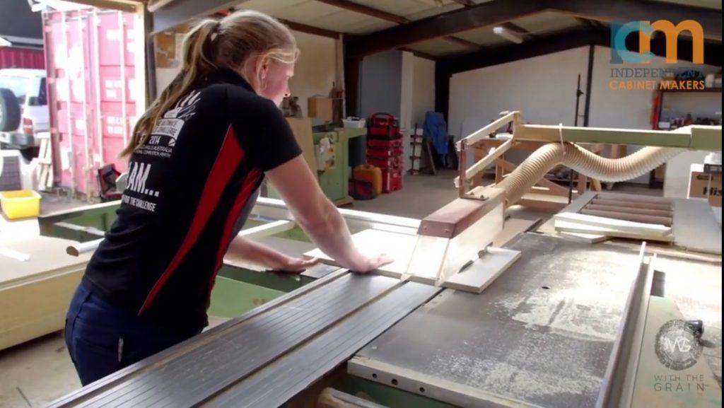 Women in Cabinetmaking Kate Elstone