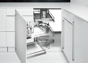 Hettich corner cupboard solutions for the kitchen